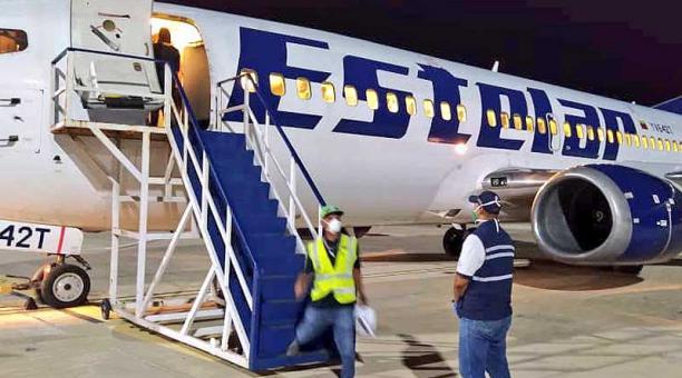 Avión de Estelar Venezuela
