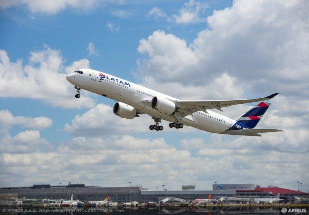 Airbus A350 de LATAM Airlines