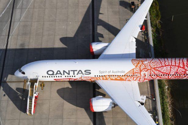 Boeing 787 Dreamliner de Qantas