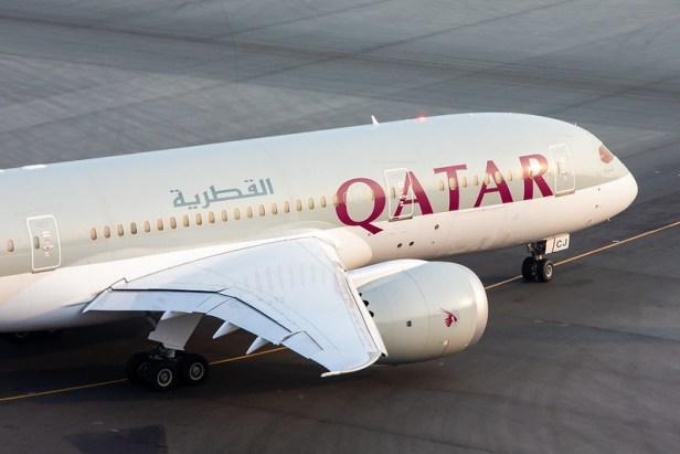 Boeing 787 de Qatar Airways