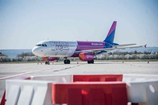 Airbus A320 de Wizz Air almacenado a largo plazo en el Aeropuerto de Varna