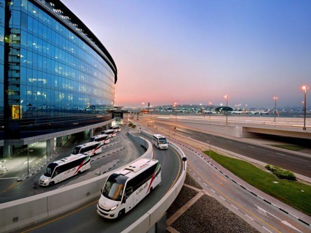 Autobuses tripulantes Emirates