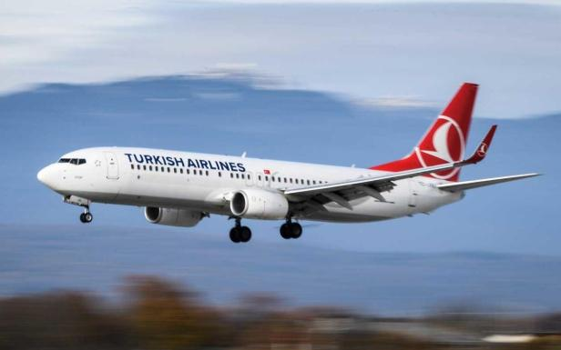 Boeing 737 de Turkish Airlines