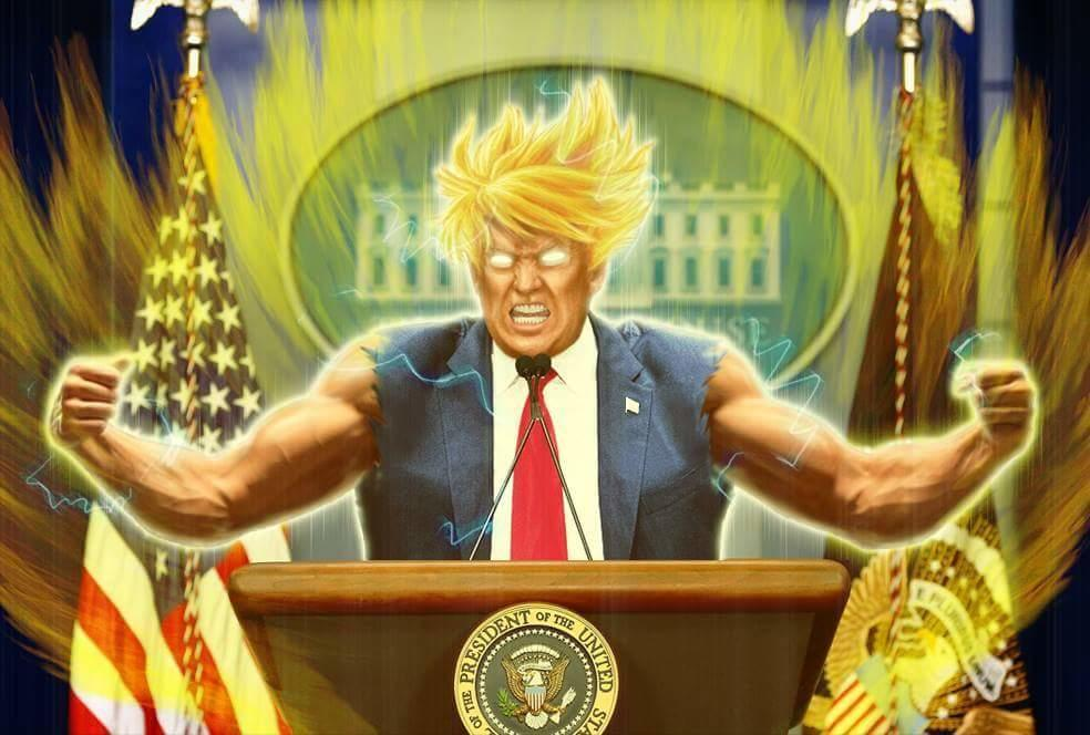 President Trump is ready to ROCK!