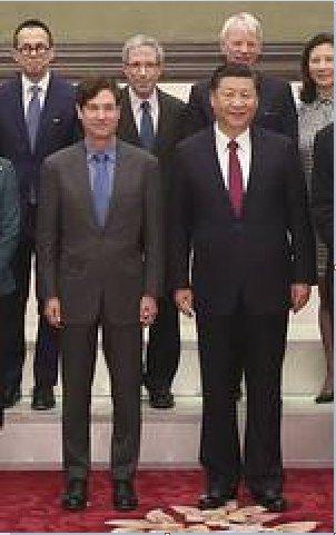 Jim Breyer with CCP chairman Xi Jinping