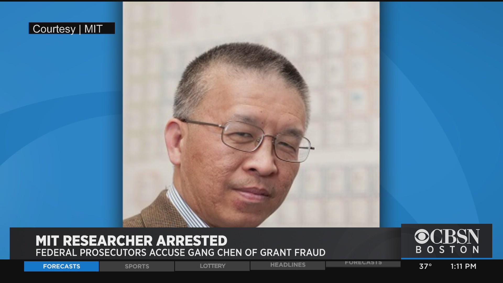 MIT Professor Gang Chen