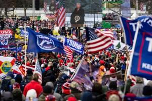 Trump Rally at Capitol - January 6, 2021