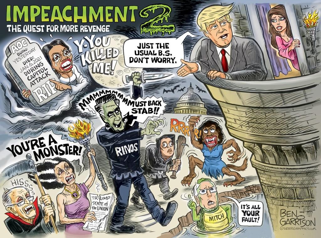 Cartoon by Ben Garrison - grrrgraphics.com