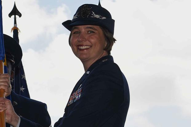 US Air Force Lieutenant Colonel Kristen Shadden