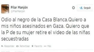 Twitter Pilar Manjón Cerrado