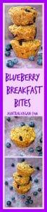 blueberry breakfast bites