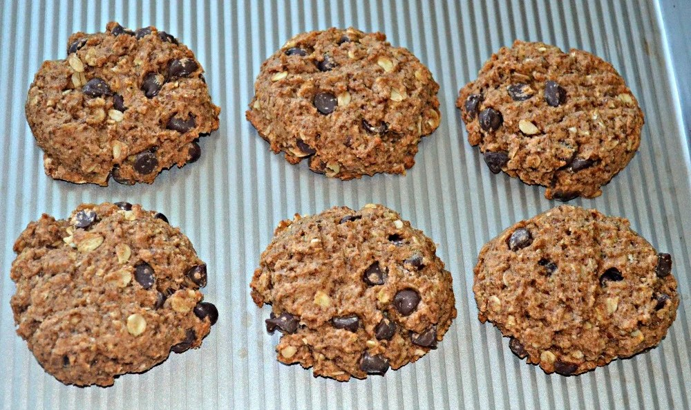 Almond Pulp or Oat Pulp Chocolate Chip Cookies