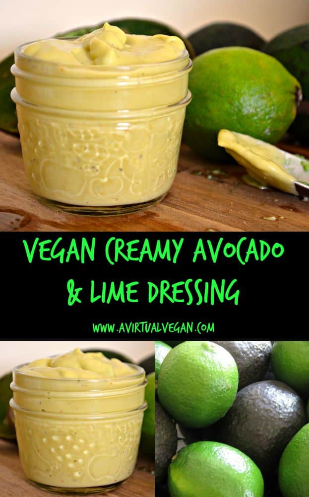 Creamy Avocado & Lime Dressing