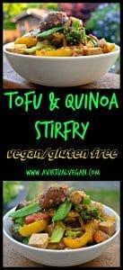 Tofu & Quinoa Stir Fry