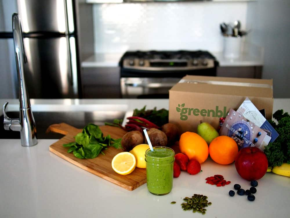 The Green Blender - Smoothie Delivery Service