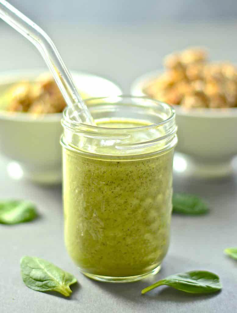 Do you love the idea of packing the green stuff into your smoothie but always hate the taste? Then you need to try this Going Green Smoothie! It's stuffed full of healthy ingredients including spinach but is creamy, sweet & delicious. It really doesn't taste green!