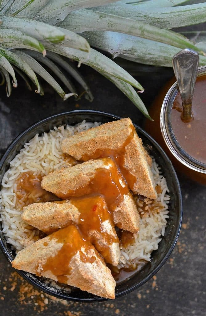 Simplicity at it's best! With just two ingredients & 30 minutes of your time you could be tucking into this delicious Easy Coconut Tofu. Could it get any better? ....... Well yes actually.....Because it's gluten-free, oil-free, low fat and has 10 grams of protein per serving!