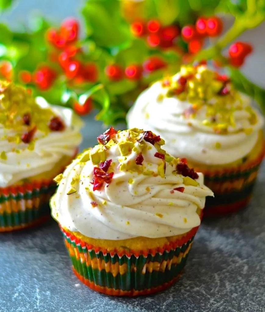 Festive Vegan Cupcakes!