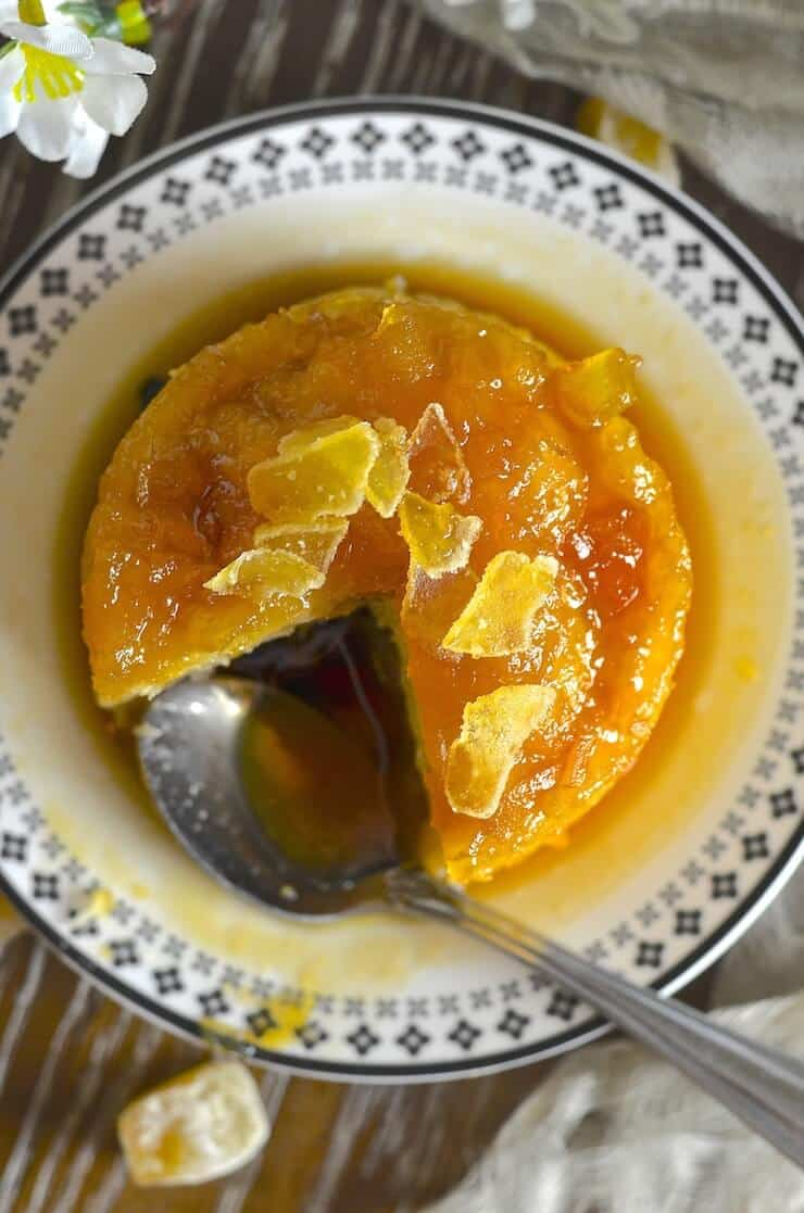 Wonderfully comforting, beautifully sticky Maple Ginger Steamed Pudding. A dream to eat and so easy to make!