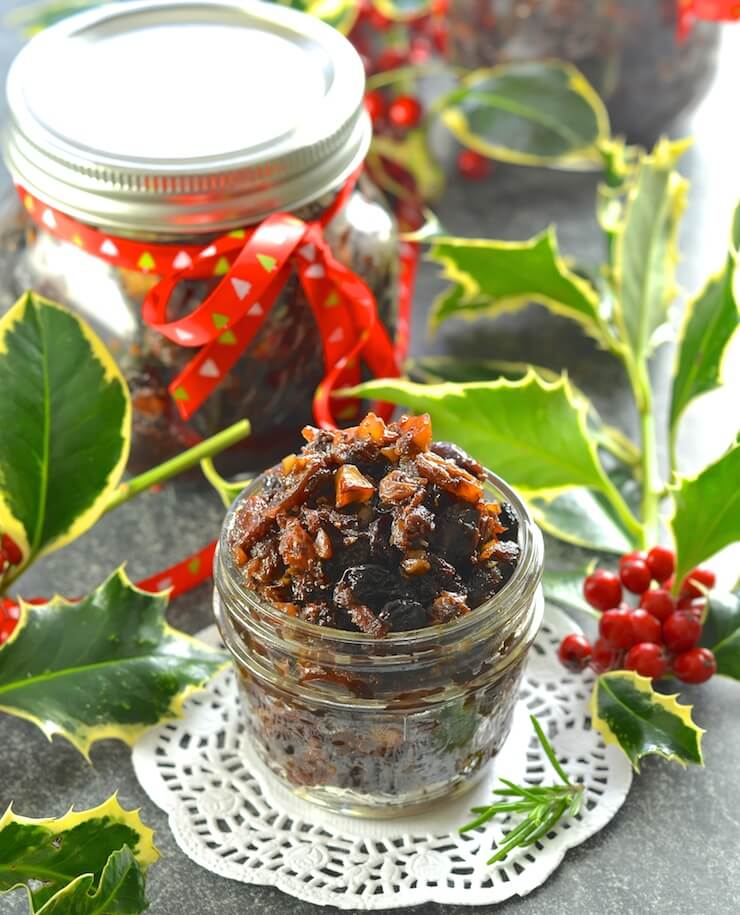 Vegan Christmas Mincemeat for Christmas.