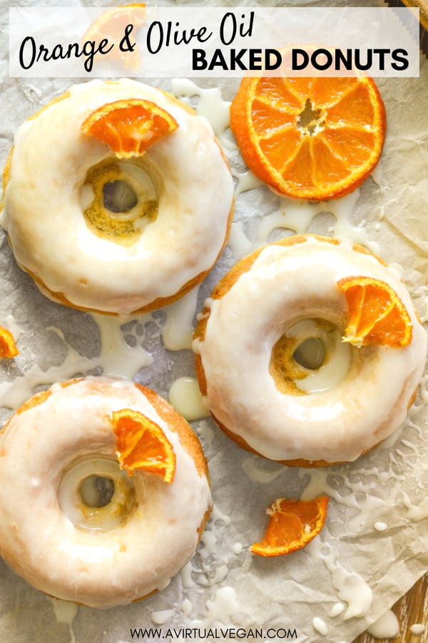 Light, fluffy and incredibly moist, these Orange Olive Oil Baked Donuts are a real taste sensation. The pungent, fruity oil balances perfectly with the orange & the sticky glaze finishes them off perfectly!