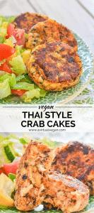 Thai Style Vegan Crab Cakes