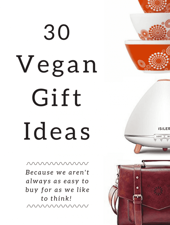 Vegan Gifts for the Holidays - because we aren't always as easy to buy for as we like to think