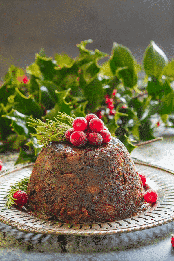 The Ultimate Vegan Christmas Pudding. It's dark, rich, fruity, moist & boozy & so much lighter than the dense, heavy puddings you might have tried in the past!