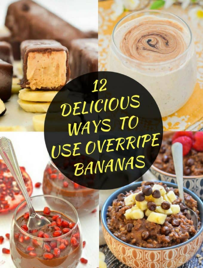 12 Delicious Ways to Use Overripe Bananas