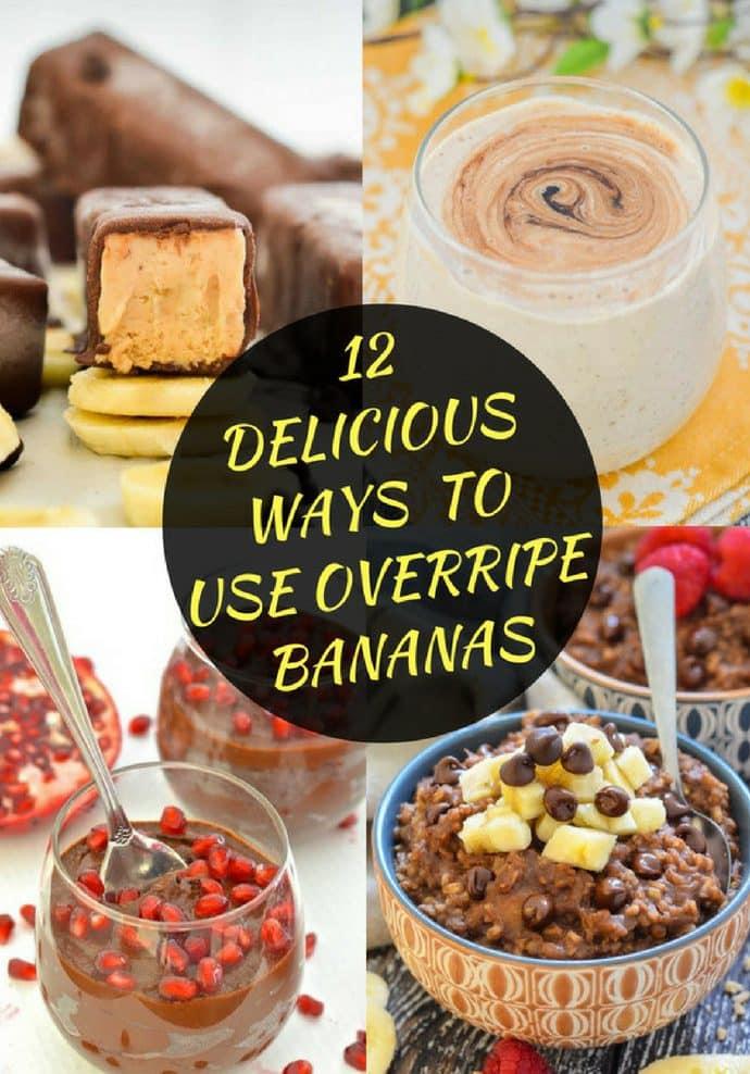 12 Delicious Ways to Use Overripe Bananas