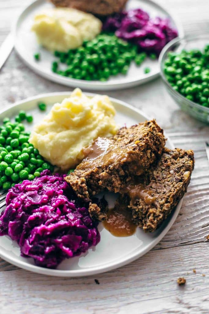 Vegan Meatloaf with Gravy - A Virtual Vegan