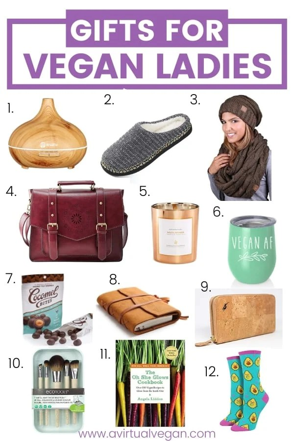 Amazing gifts for vegans - The Ladies