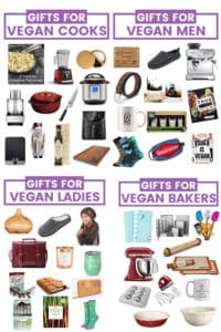 Holiday season is here and I have curated a collection of amazing gifts for vegans to help you check everyone off your list with the least fuss possible. It includes gifts for vegan cooks, vegan men, vegan ladies, vegan bakers and vegan pet lovers and everyhting an be purchased from the comfort of your own home!
