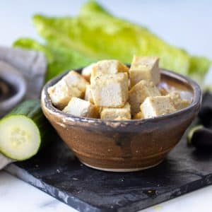 Vegan Feta Cheese cubes