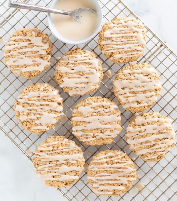Maple Cinnamon Cookies - Vegan Comfort Cooking - Exclusive Recipe Bundle - A Virtual vegan - Melanie McDonald
