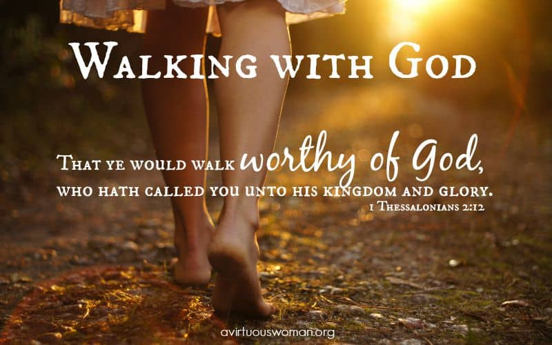 Image result for walking with God