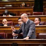 Francisco Igea en el pleno del Congreso