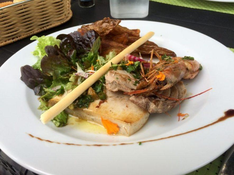 bonne adresse restaurant saint-paul 974 la barque-ile-reunion-camarons