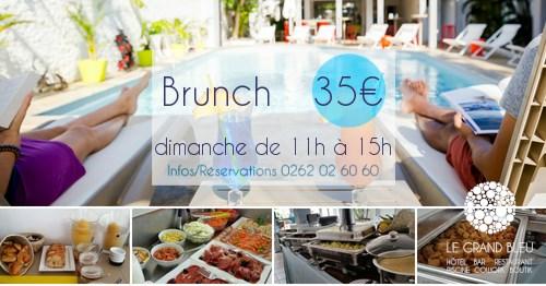 brunch hotel grand bleu st gilles 974