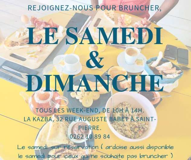 la kazba brunch saint pierre la reunion 974