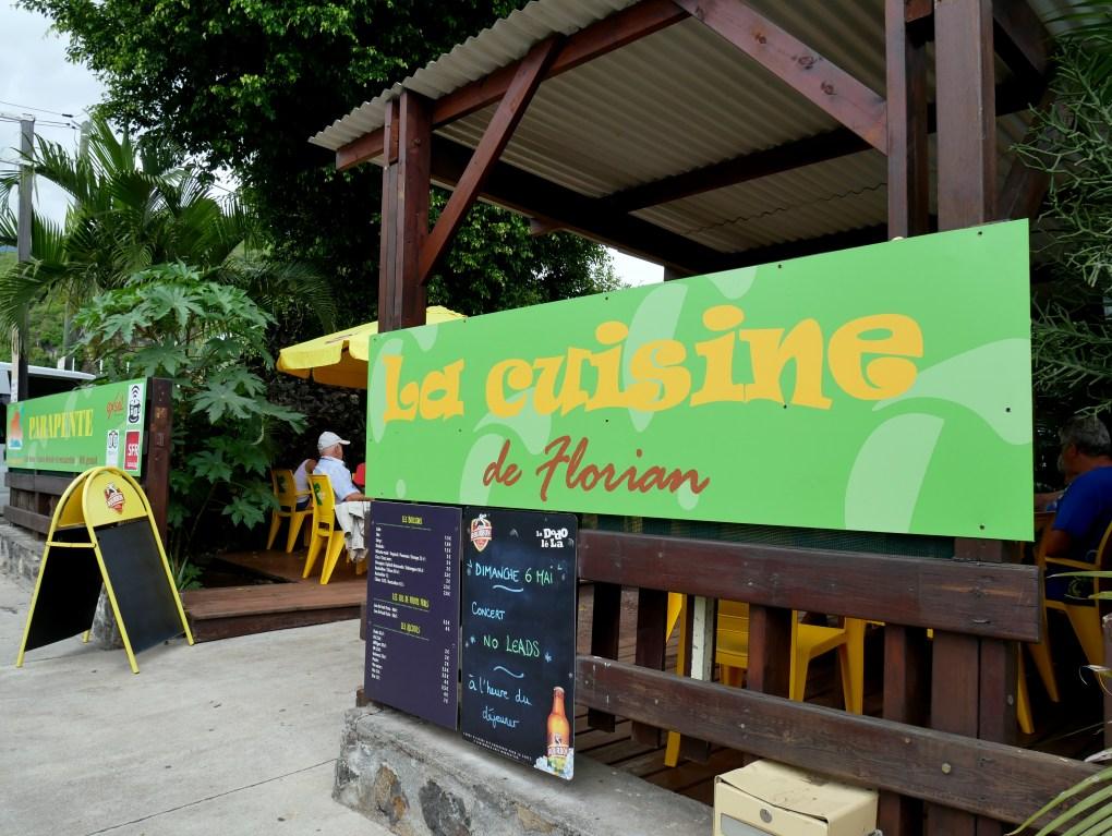 bonne adresse restaurant saint leu 974 la cuisine de florian devanture