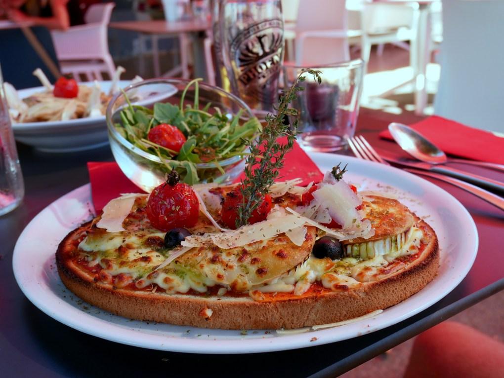 restaurant italien la saline les bains reunion 974 bruschetta