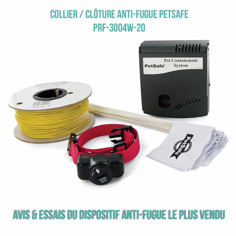 Collier & Clôture Petsafe PRF 3004 XW20 – Avis et Test