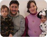 Micol Santi e la sua famiglia