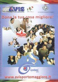 """Immagine eella copertina di """"Dona la tua cosa migliore!"""": Opuscolo realizzato da AVIS Portomaggiore (FE)"""