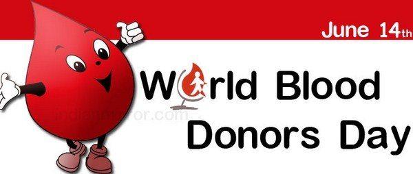 Logo del World Donor Day 2014