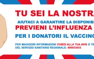 vaccinazione antinfluenzale gratuita per i donatori 2016 in emilia-romagna