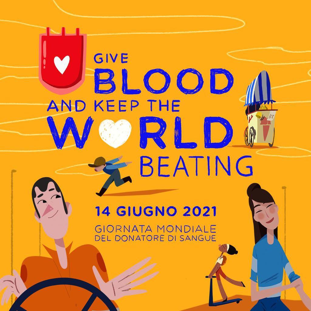 Giornata mondiale dei donatori di sangue 2021