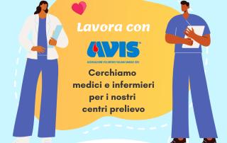Lavora con avis cerchiamo medici e infermieri