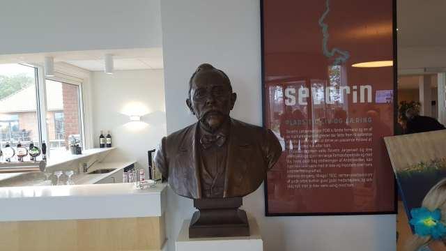 Buste af Severin Jørgensen(Foto: Claes Andersen)